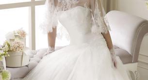 Vestido de Noiva de Renda e Tule
