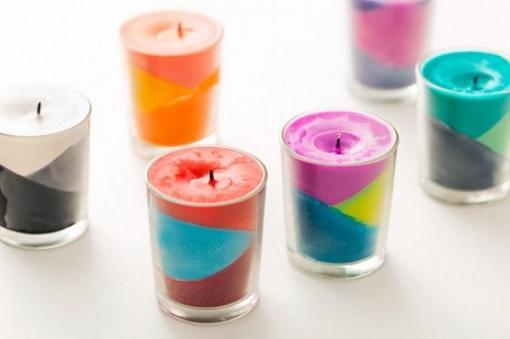 ¿Cómo fazer velas decorativas?